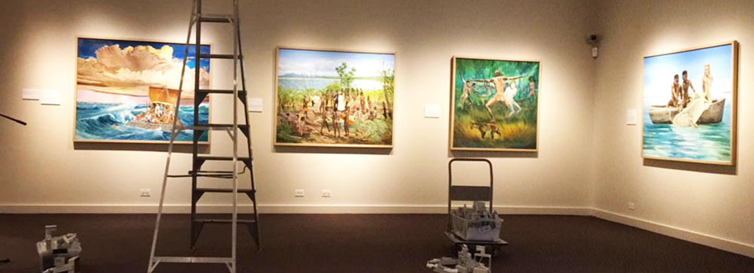 Exhibition Hanging copy
